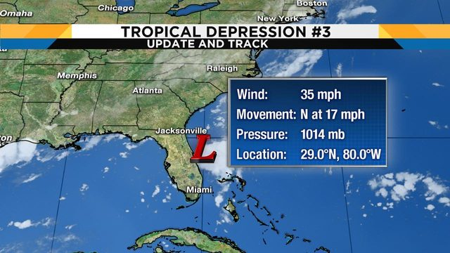 NHC issues last advisory after tropical depression falls apart