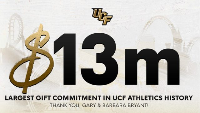 Lake Mary family makes record $13 million commitment to UCF