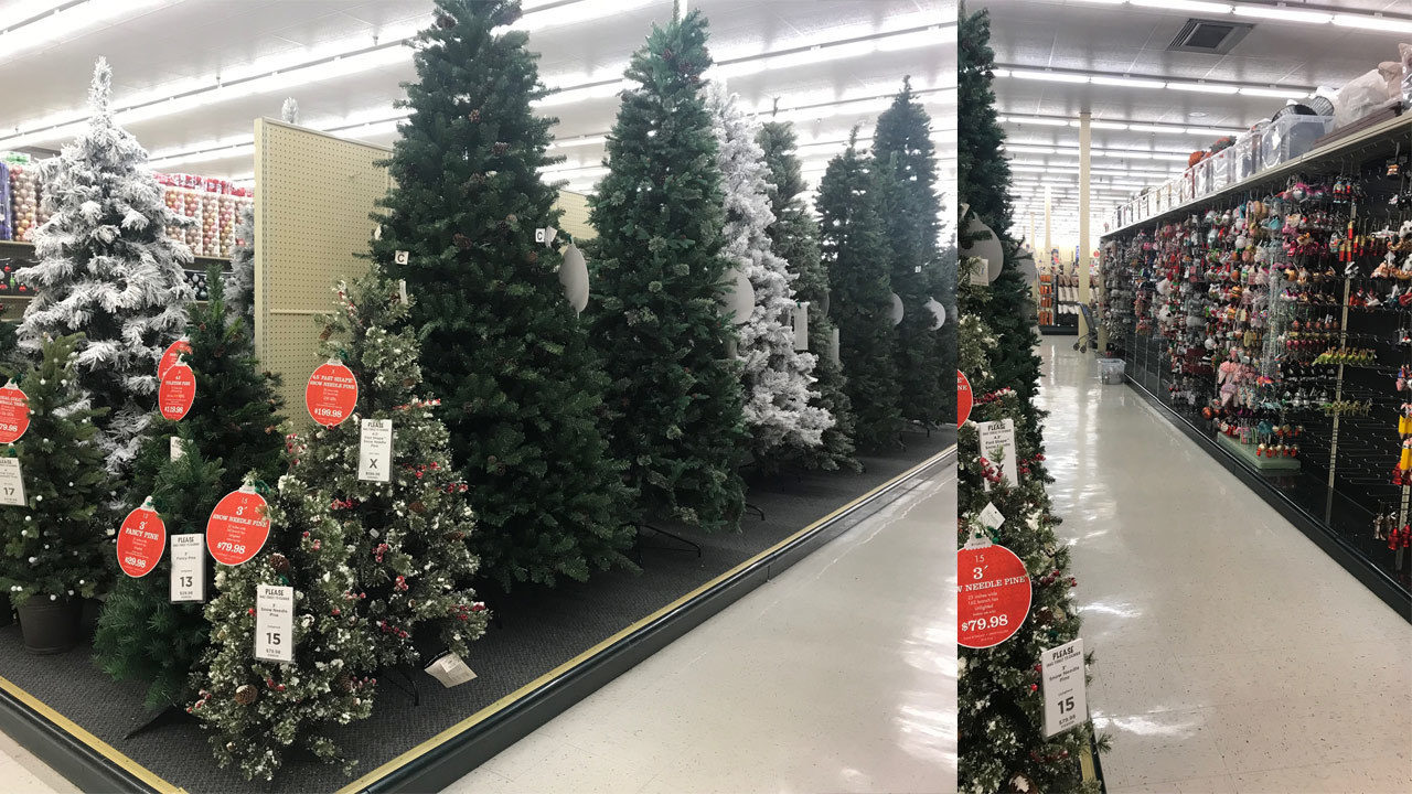 Too early? It's only July and Hobby Lobby has Christmas...