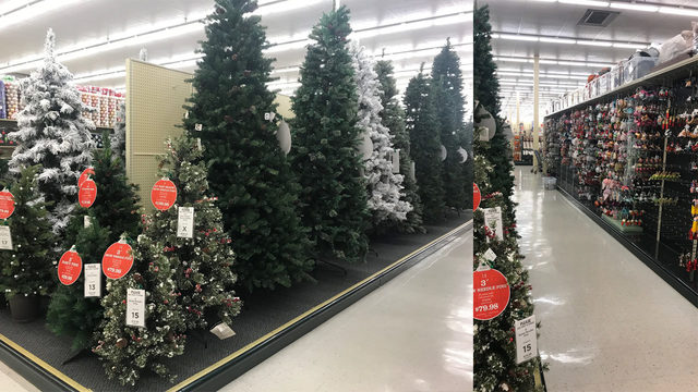 Too early? It's only July and Hobby Lobby has Christmas decorations out