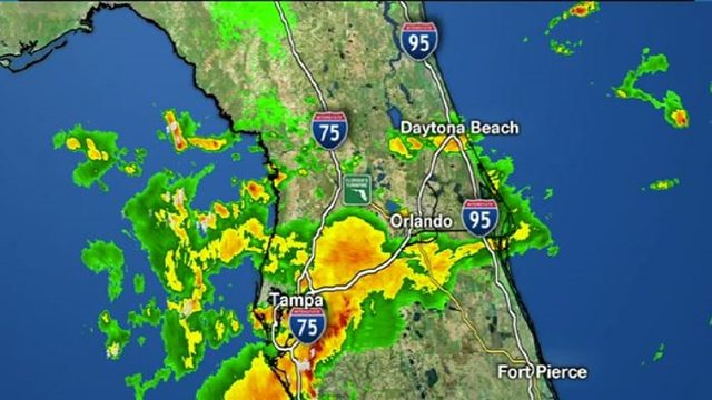 LIVE RADAR: Rain expected all day in Central Florida