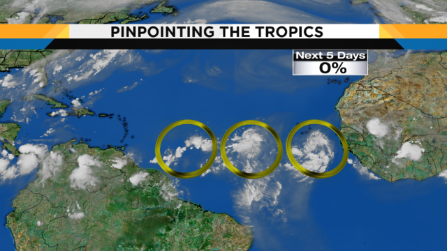 TROPICAL UPDATE: Tropical waves develop off African coast
