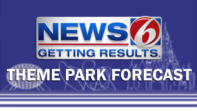 Hot, low rain chances at the parks