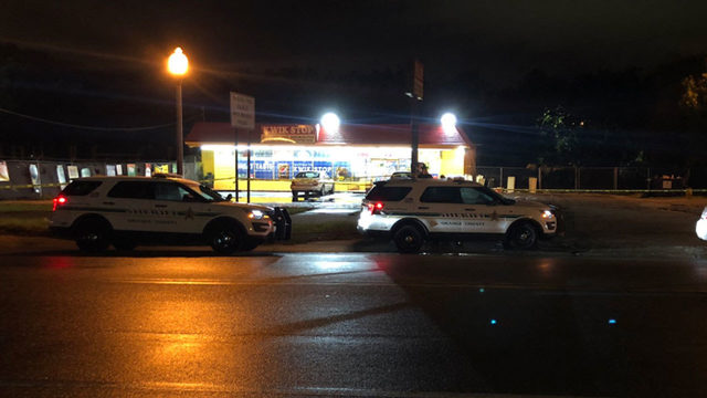 Orange County deputies looking for shooting suspect