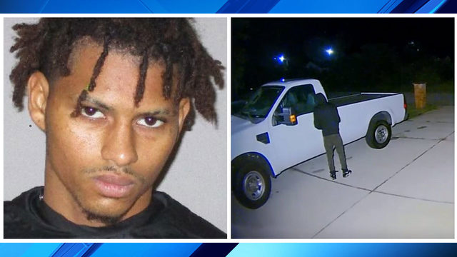 Palm Coast attempted burglary suspect arrested after being spotted on…