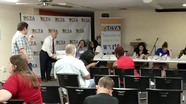 Orange County teachers vote on contract proposal