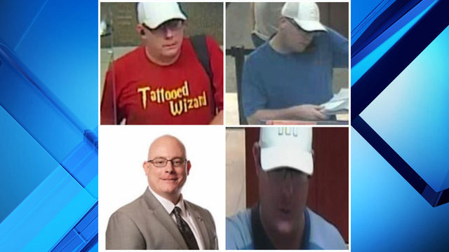 Warrants issued for 'Tattooed Wizard,' accused of robbing banks in…