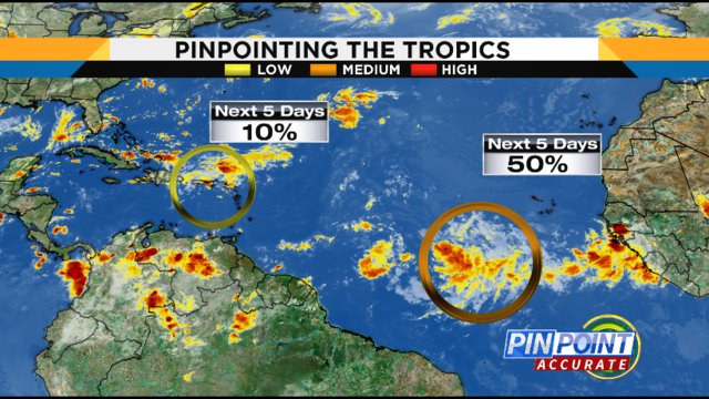 Tropics heating up: How Central Florida could be impacted