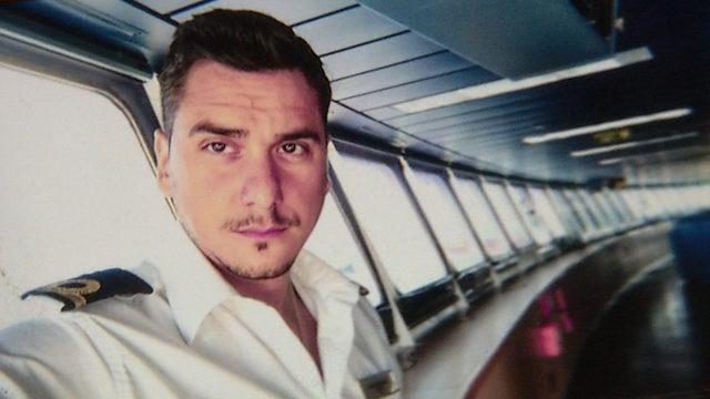 Face of Italian ship navigator used in Facebook romance scheme