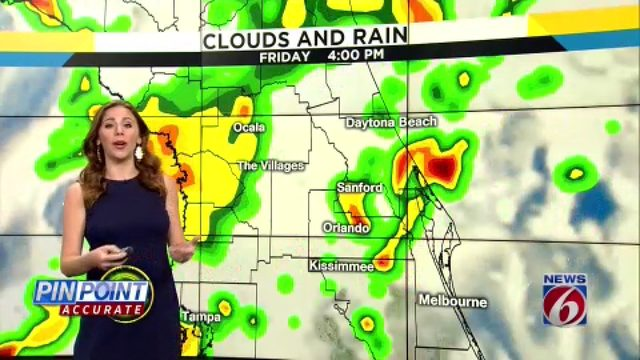 News 6 morning video forecast -- 8/1/19