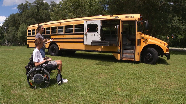 Siblings plan to travel country, inspire others with 'Special Skoolie' bus