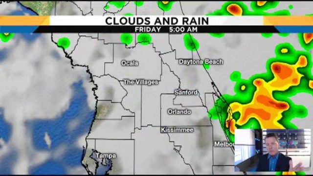 Tropical rain continues to hit Central Florida