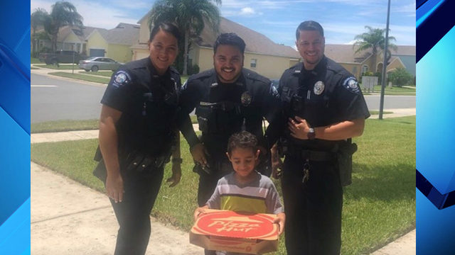 Sanford child calls 911 after he wanted to order pizza