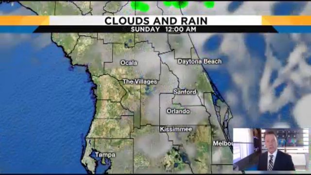 More rain will hit Central Florida this weekend
