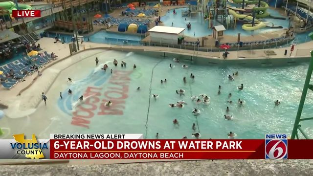 6-Year-Old Drowns at Water Park