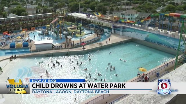 Child Drowns at Water Park