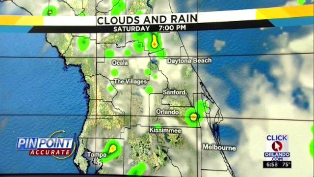 Lower storm chances Saturday, tropical development low.mp4