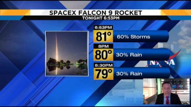 Troy Bridges' SpaceX launch forecast