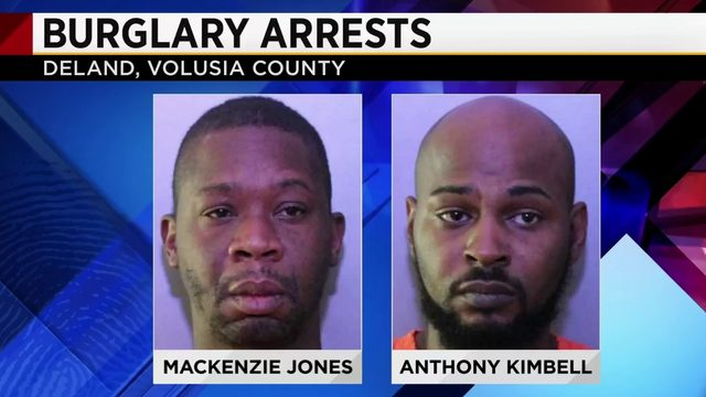 Volusia investigators use DNA from blood found at scene to find burglary…