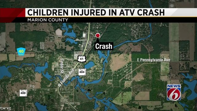 2 7-year-old's injured in ATV crash in Marion County