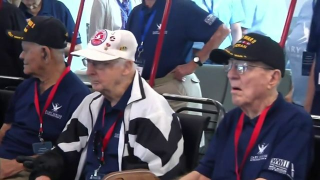 Veterans take trip to visit WWII museum