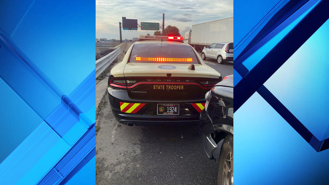 Driver clips Florida trooper and road ranger on I-4, FHP says