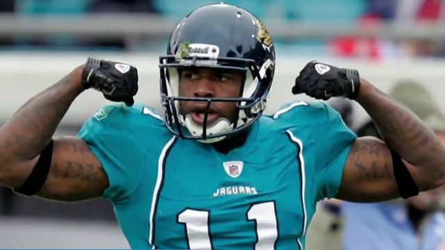 Former Jaguars WR Mike Sims-Walker accused of sucker punching man in…
