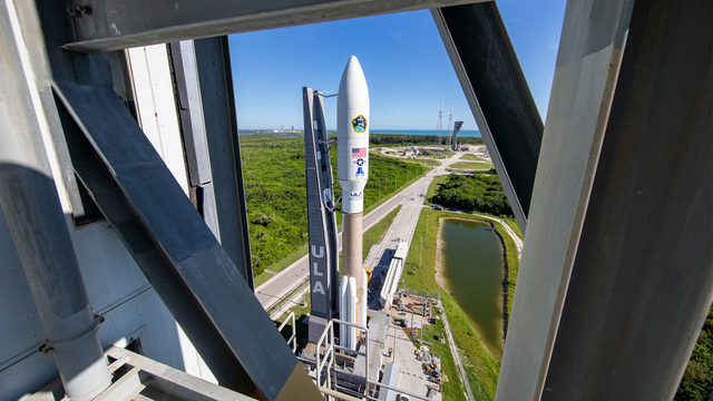 WATCH LIVE: Second rocket launch this week; Atlas V to launch Air Force…