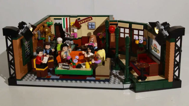 You can build 'Friends' Central Perk with new Lego set