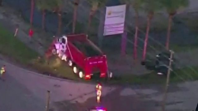 1 killed in crash involving dump truck in Orange County
