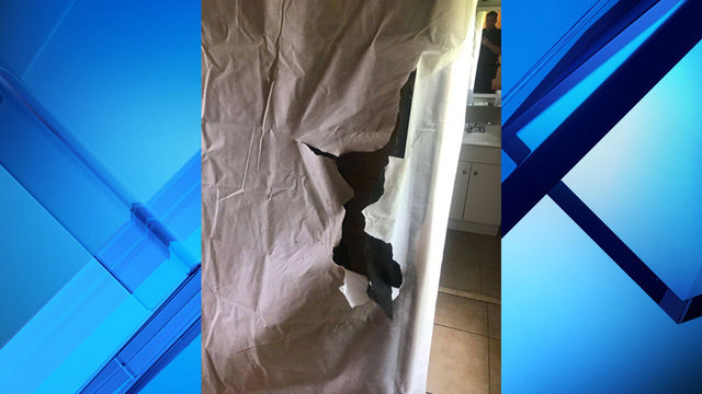 Suspect caught hiding in mattress in Cocoa