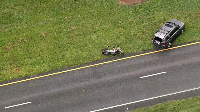 Crash involving motorcycle closes part of SR 46 in Sanford