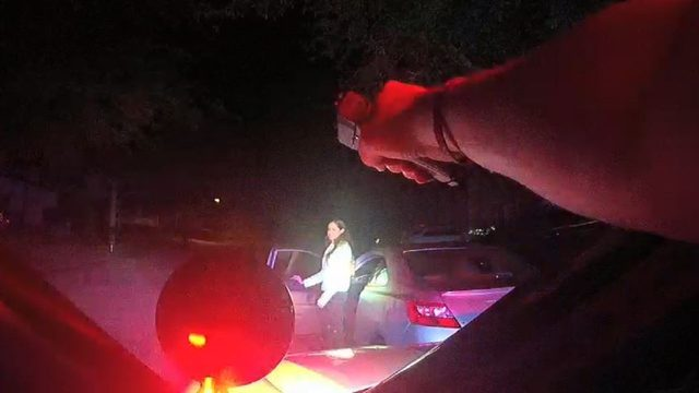 Driver claims she did not realize Oviedo police were stopping her