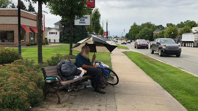 Beloved homeless man becomes center of controversy in sleepy town