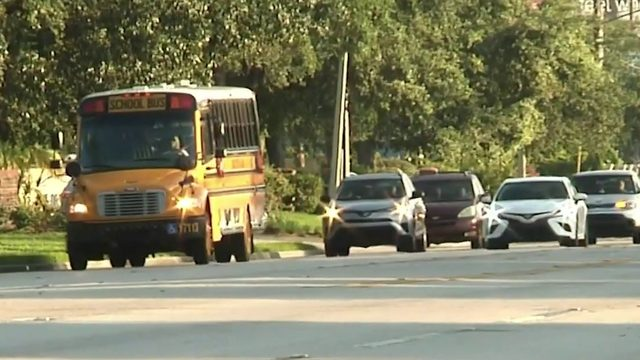 Deputies crack down on drivers passing school buses in Orange County