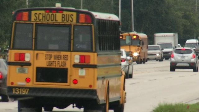 Deputies crack down on drivers passing school buses in Orange County