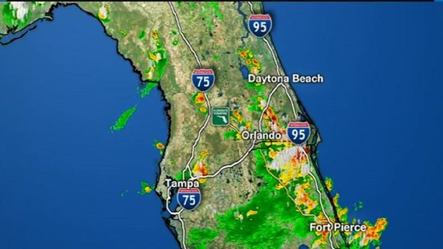 Crazy hot day before storms strike Central Florida