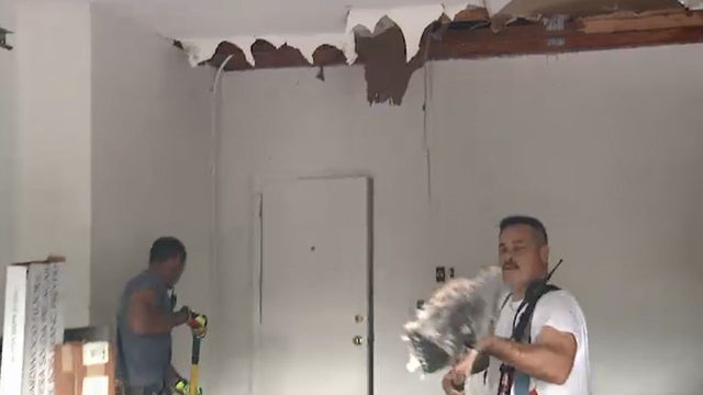 Lightning damages Orange County home