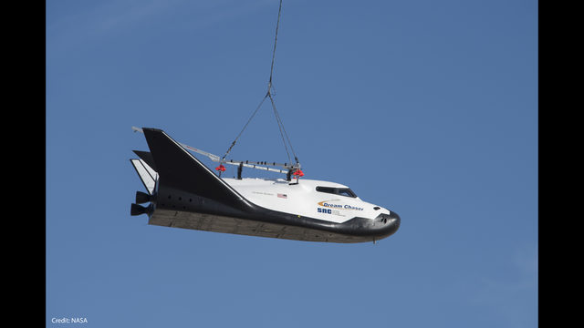 WATCH LIVE: Sierra Nevada Corp. selects ULA to launch Dream Chaser space plane