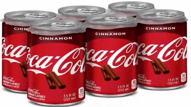 Cinnamon-flavored Coke hitting shelves next month