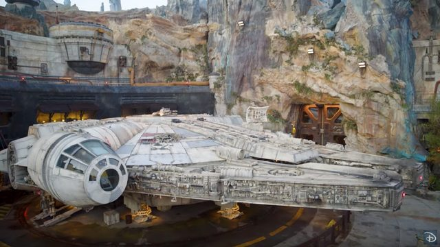 Get bird's-eye view of 'Star Wars: Galaxy's Edge'