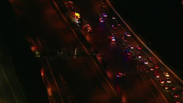 State Road 408 reopens in Orlando after crash, spill