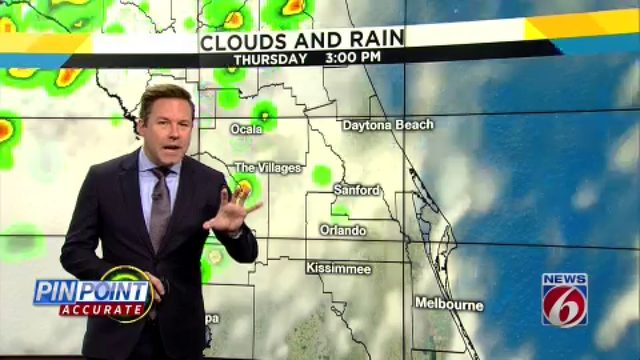 More storms to drench Central Florida