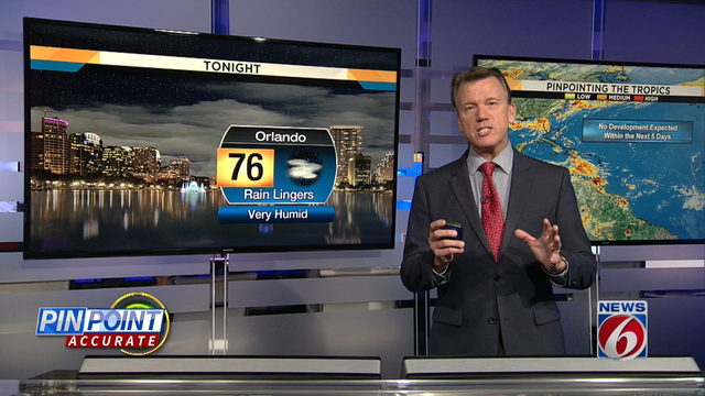 News 6 Evening Forecast for August 15th