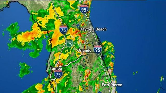 More storms soak Central Florida
