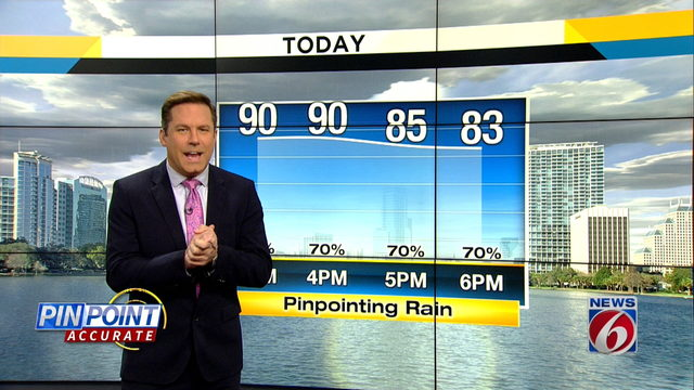 News 6 Morning Forecast for August 16th