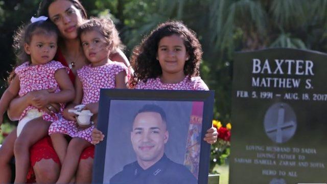 Officer's widow will attend murder suspect's trial