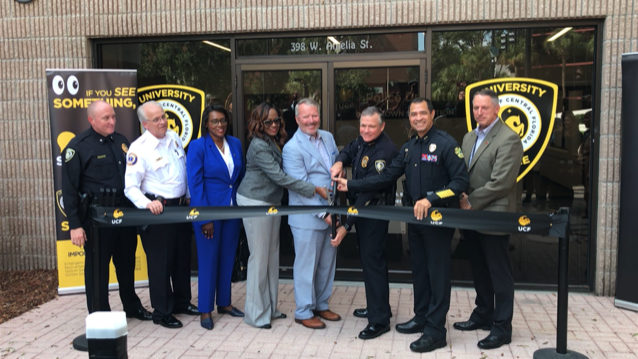 UCF police open substation ahead of classes at new downtown campus