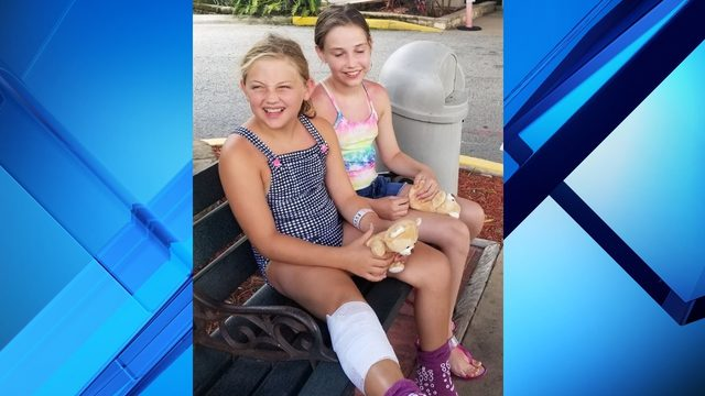 9-year-old girl bitten by shark at New Smyrna Beach