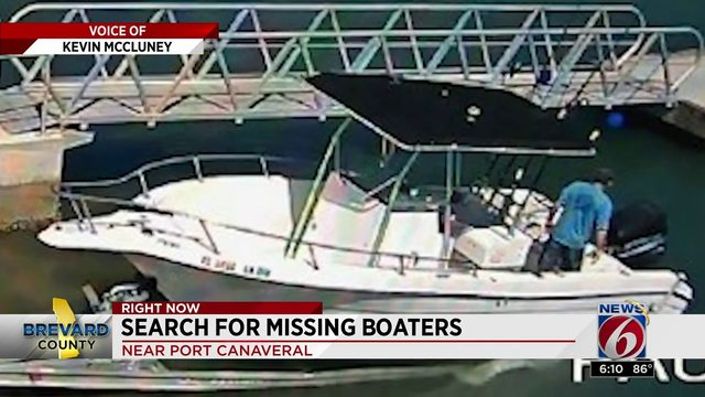 Search for Missing Boaters in Brevard County